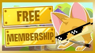 (Animal Jam) HOW TO GET FREE MEMBERSHIP 2019! *NOT CLICKBAIT*