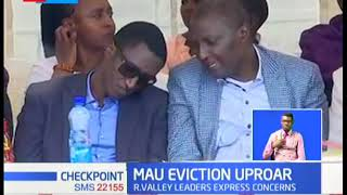 Mau Eviction Uproar: Baringo Senator Gideon Moi calls for dialogue over Mau eviction