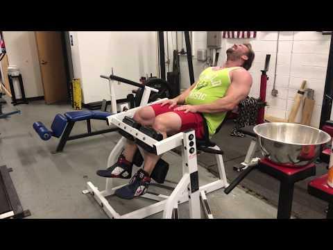 Hammer Strength Seated Leg Curl