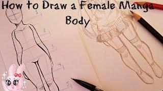 How to Draw A Female Manga Body
