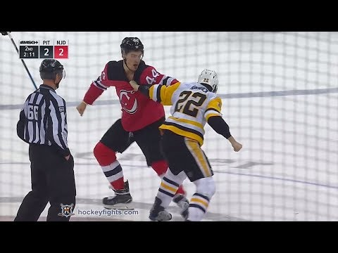 Miles Wood vs. Matt Hunwick