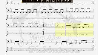 Dragpipe   Simple MInded BASS GUITAR TAB