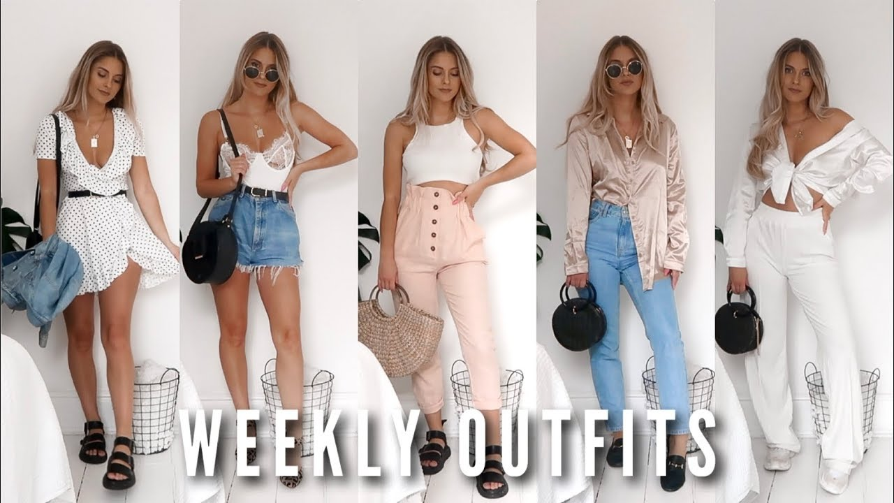 Weekly Outfits  - Summer Casuals | Fashion Influx