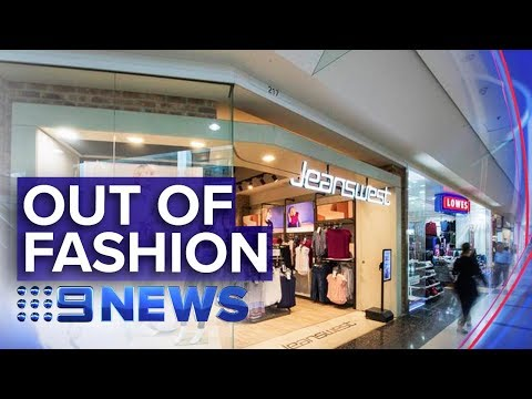 Jeanswest put into voluntary administration | Nine News Australia