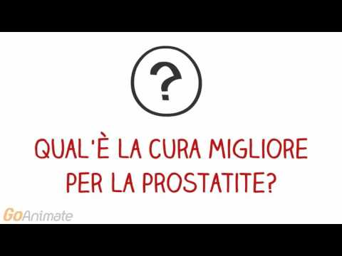 Masturbazione video prostatite