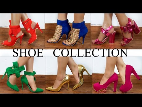 My HUGE SHOE COLLECTION Part 1 – HEELS | Aishwarya Kaushal