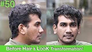 Hair MakeoverHair Transformation 2018 | Haircut | Hair Straightening | Hairstyle For Men UAEUSA