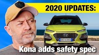 2020 Hyundai Kona safety upgrades (plus nuts: yesssssss!) | Auto Expert John Cadogan