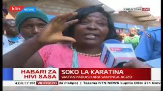 Soko la Karatina: Mgogoro wazuka wa tikiti maji