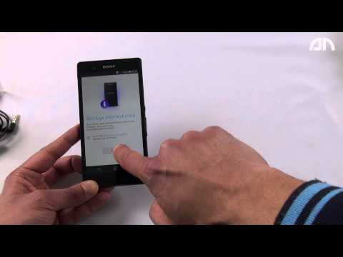 Youtube Video Sony Xperia Z Telekom Ware in weiss