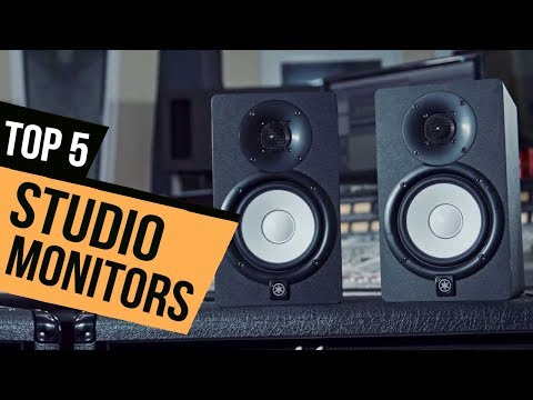 TOP 5: Studio Monitors 2018 - Must Watch Before You Buy