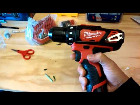 MILWAUKEE M12 CORDLESS DRILL DRIVER REVIEW