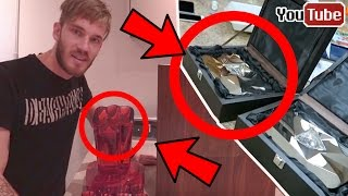 5 Youtubers Who Unboxed The Diamond / Ruby Play Button - PewDiePie, Roman Atwood, JackSepticEye