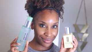 How To Remove Your Makeup + Skincare Tips With Clinique! | Jackie Aina