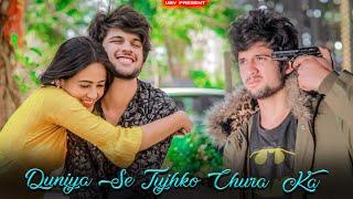 Duniya Se Tujhko Chura Ke | Sad Love Story | Rakh Lena Dil Main Chhipa Ke | Viral Song 2020