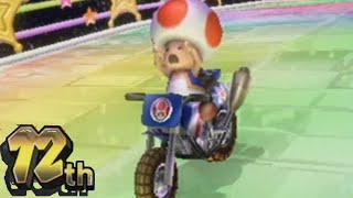 Mario Kart Wii Rainbow Road Raging And Funny Moments