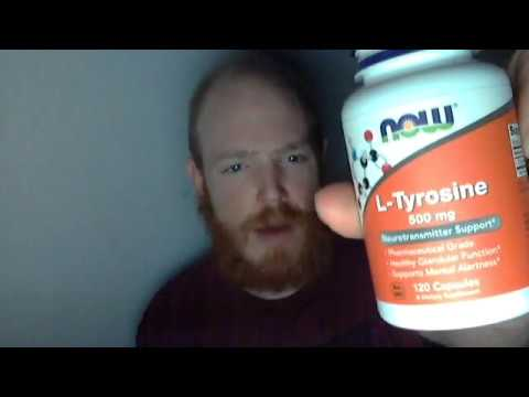Video Tyrosine - My Experience & Research - Increase Motivation, Anti-Stress, Anti-Depressant