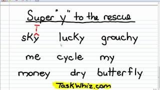Y as a Vowel - Phonics Story Lesson