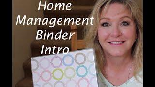 Home Management Binder Intro