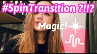 How to do spin transition on musical.ly (EASY WAY)