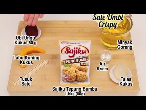 Video Dapur Umami - Sate Umbi Crispy