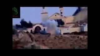 preview picture of video 'Deir Cherubim : Destruction d'un armement du régime صيدنايا : تفجير الية عسكرية بالقرب دير الشيروبيم'