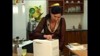 Смотреть онлайн Печем хлеб в хлебопечке Kenwood
