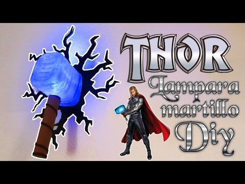 Martillo De Thor O Mjolnir Cómo Se Hace Manualidades