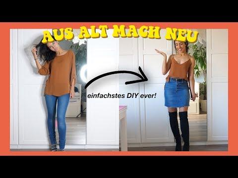 Klamotten verwandeln | Aus ALT mach NEU | easy & schnell DIY upcyclen