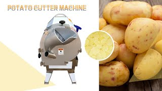 Commercial potato slicer machine for cutting potato chips youtube video