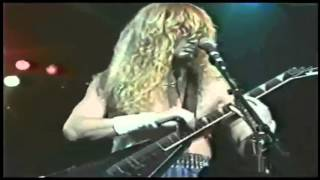 Dave Mustaine Soloing