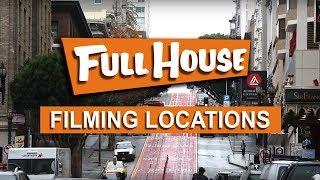 FULL HOUSE LOCATIONS Season 1 - 8