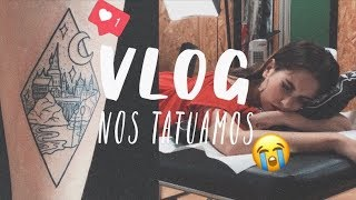 VLOG: Nos Tatuamos! Harry Potter Tattoo⚡️