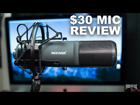 Neewer NW-8 XLR Condenser Mic Review / Test