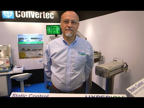 Video of Donald Lewis interview / presentation for Meech and Convertec at Scanpack exhibition