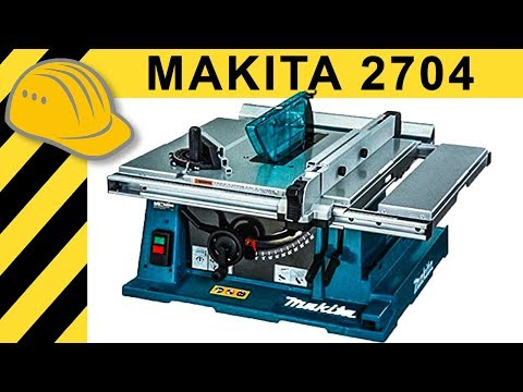 Makita 2704 Tischkreissäge TEST - Die bessere Bosch GTS 10 XC Alternative?