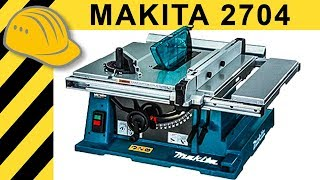 Makita 2704 Tischkreissäge TEST   Die Bessere Bosch GTS 10 XC Alternative?