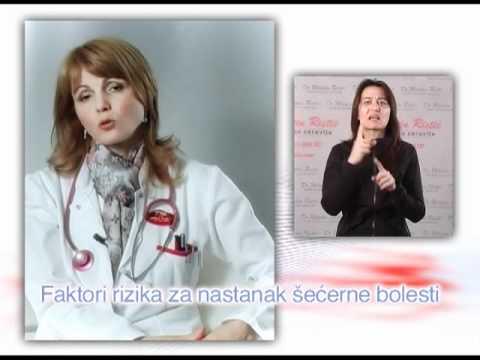 Dijabetesa i njegovih učinaka na ljudsko tijelo