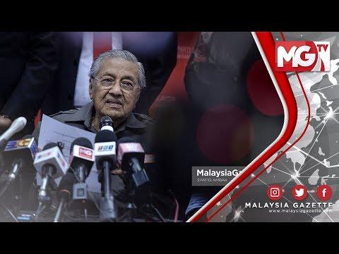 TERKINI : Parti Bersatu Akan Pergi ke Sabah Walaupun Ada Masalah! - Tun M