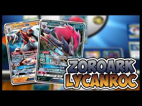Zoroark GX / Lycanroc GX – Pokemon TCG Online Gameplay