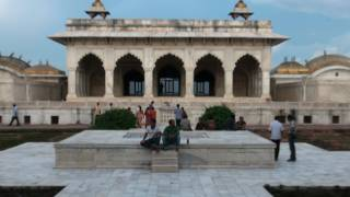 Akbari Mahal, Anguri Bagh at Agra Fort