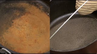 How to Clean Old Rusted Dutch Oven or Skillet