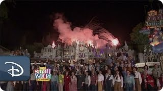 "Good Morning America Celebrates ""it's a small world"" 