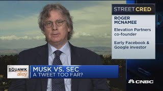 What Musk is doing is 'nuts', says Elevation Partners' McNamee