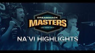 Natus Vincere at DreamHack Masters Las Vegas 2017