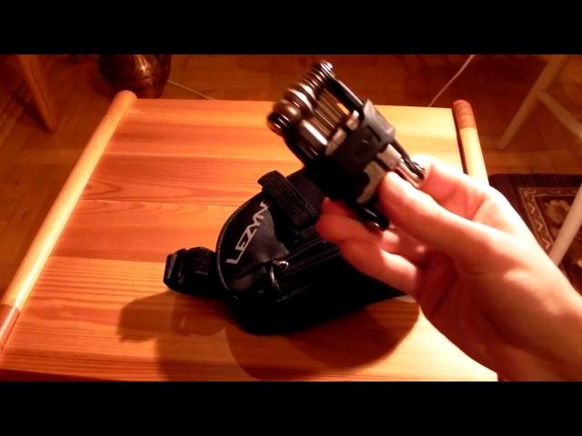 Видео Сумка под седло Lezyne L-Caddy черно-красная