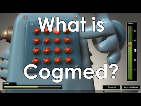 Screenshot of video: Cogmed App