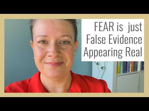 Fear = Feels Evidence Appearing Real