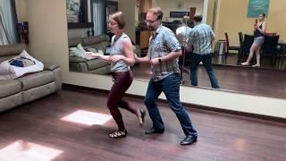 Grace & Nick Piedmont Triple Blues Dance Demo