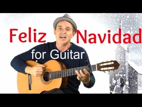 Feliz Navidad for Guitar | Fun Song With Easy Guitar Chords & Capo